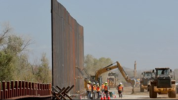 Pentagon funds being sought for 270 miles of border wall
