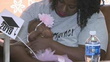 Baby weighing less than 1 pound at birth goes home after 150 days in the hospital