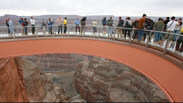 Man jumps to his death at Grand Canyon Skywalk