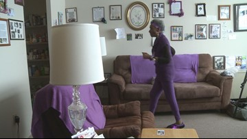 No gym, no problem! Senior loses 120 pounds by walking in her living room every day