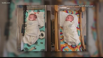 Seeing double! | Hospital caring for 12 sets of twins