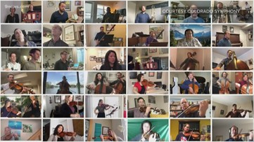 'We're committed to making sure people have some joy:' Colorado Symphony releases virtual performance