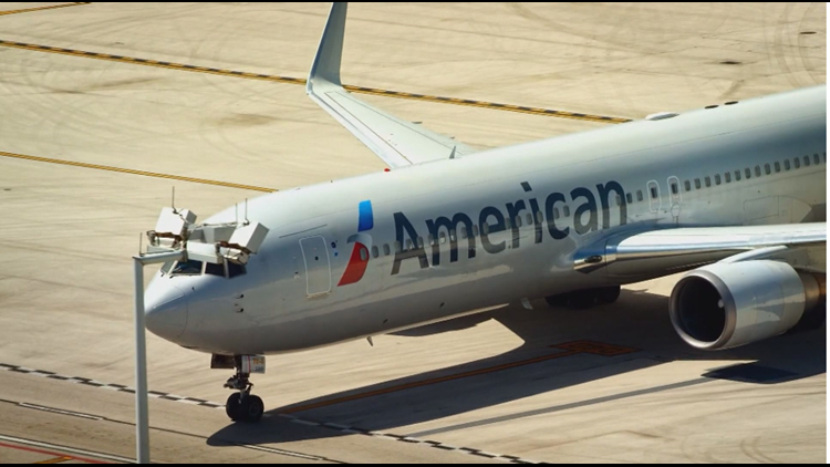Passenger bites attendant on American Airlines flight from Texas, airline says