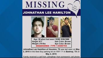 Jaw bone found in Bastrop identified as missing Houston man
