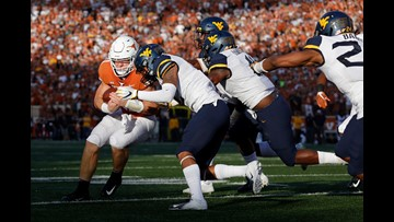 HIGHLIGHTS: No. 17 Texas Longhorns fall to No. 13 West Virginia Mountaineers, 42-41
