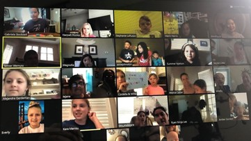Students throw classmate surprise birthday party via Zoom, as they practice social distancing