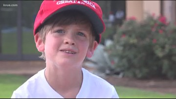 'I didn't think that it would be like this' | Austin boy raises $25,000 for border wall