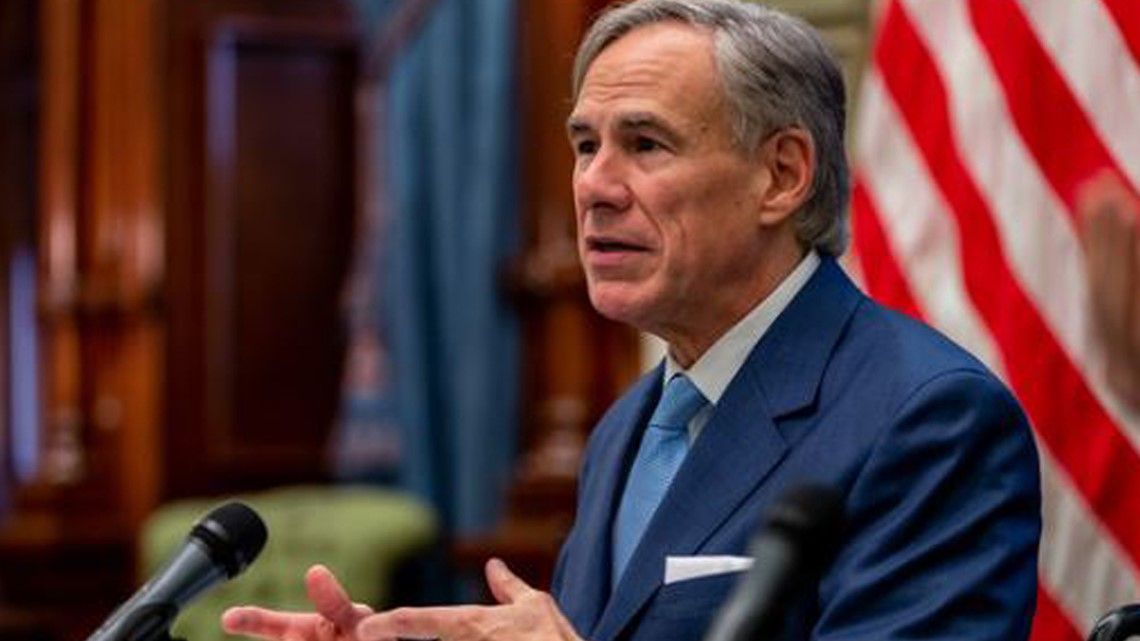 Gov. Abbott expands order requiring certain travelers to quarantine, issues order banning the release of 'dangerous felons'