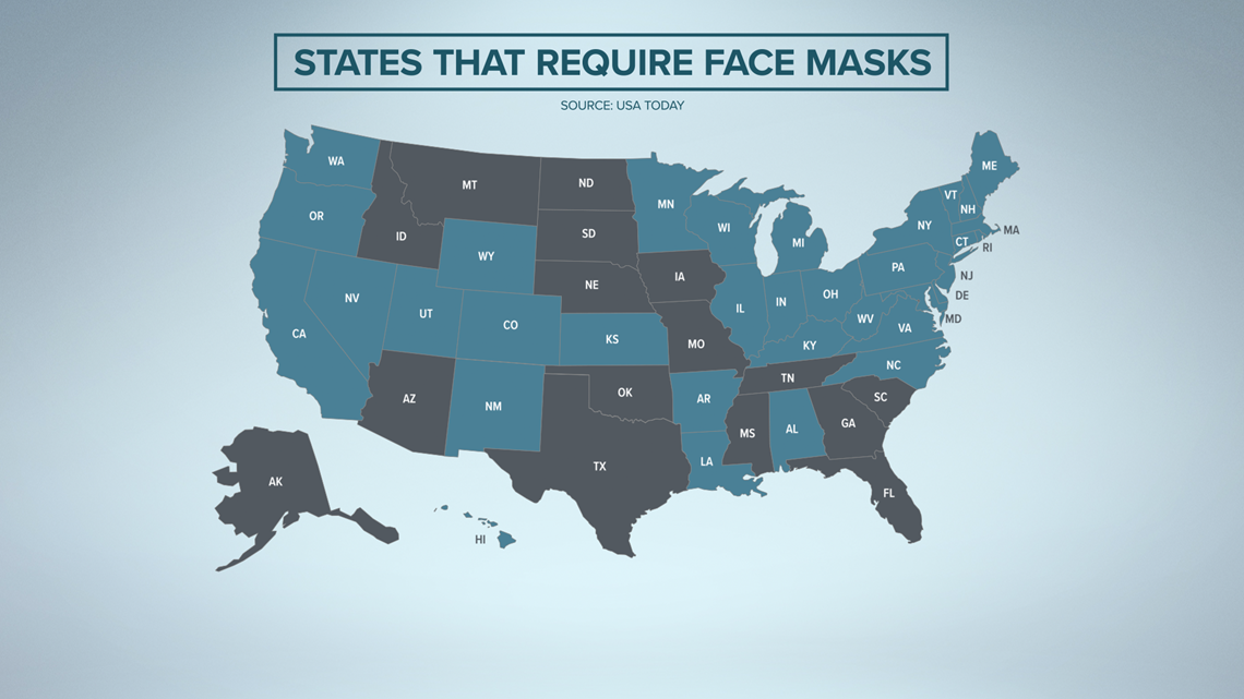 Texas to join 15 US states without statewide mask mandates | khou.com