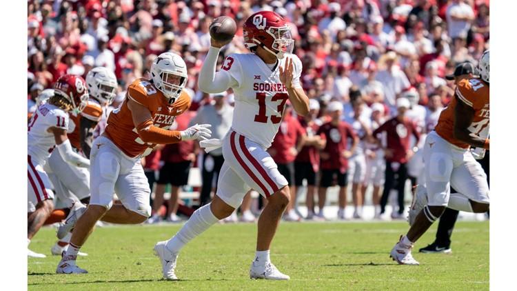 Oklahoma surmounts massive Texas head start, scores game-winning TD with 1 second left