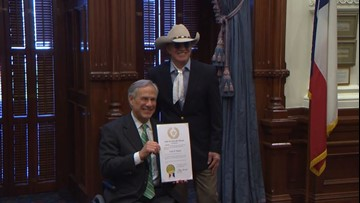 Country music icon Gary P. Nunn honored at Texas Capitol