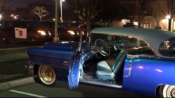 Classic '56 Cadillac stolen from 106-year-old WWII veteran