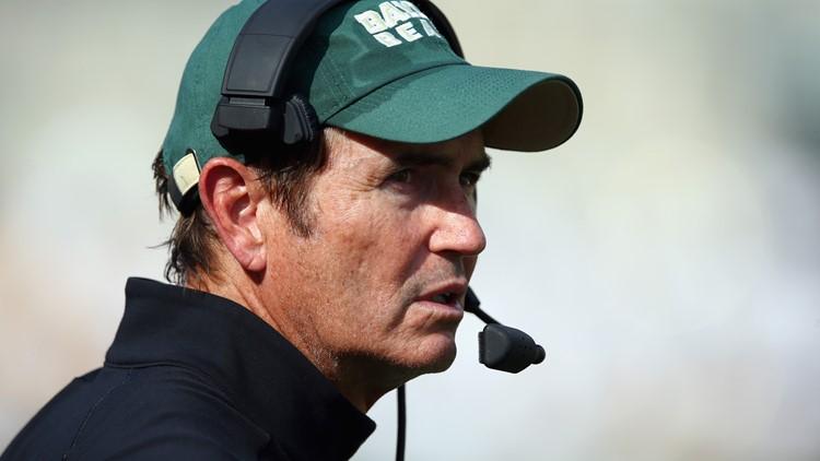Former Baylor Football Coach Art Briles returns to Texas as Mt. Vernon High School's head football coach