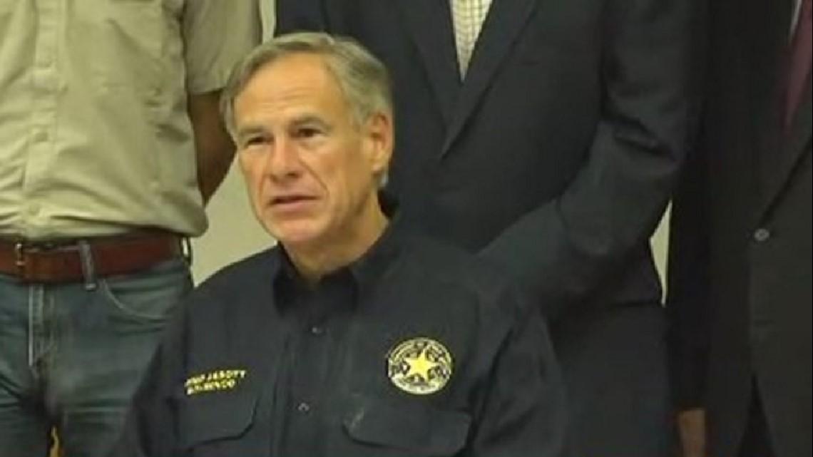 Abbott Talks Plan To Address Mass Shootings In Texas After