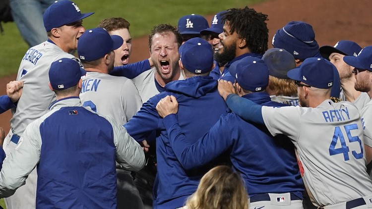 MLB playoffs: Dodgers move past Giants with controversial ending; who has edge in Red Sox-Astros?