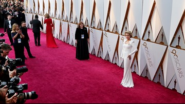 Oscars 2018: Here's why stars are wearing orange American flag pins