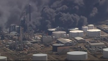 Fire extinguished at Superior oil refinery after at least 20 were injured in explosions