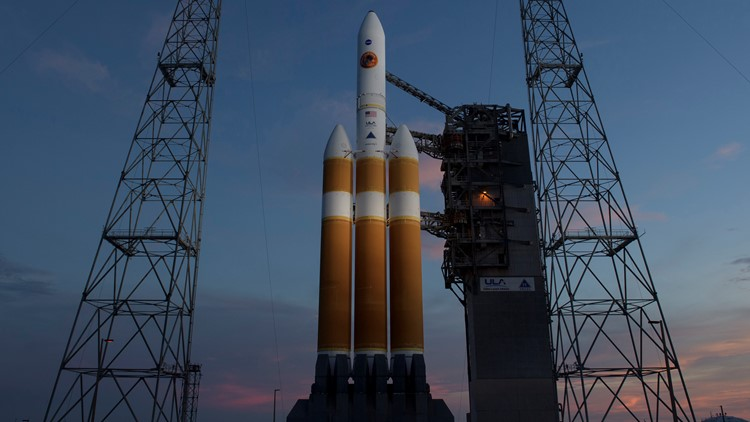 A helium-pressure issue halted the launch with just one minute and 55 seconds left on the countdown.