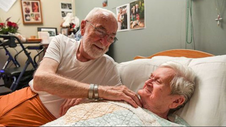 Elderly couple Florence