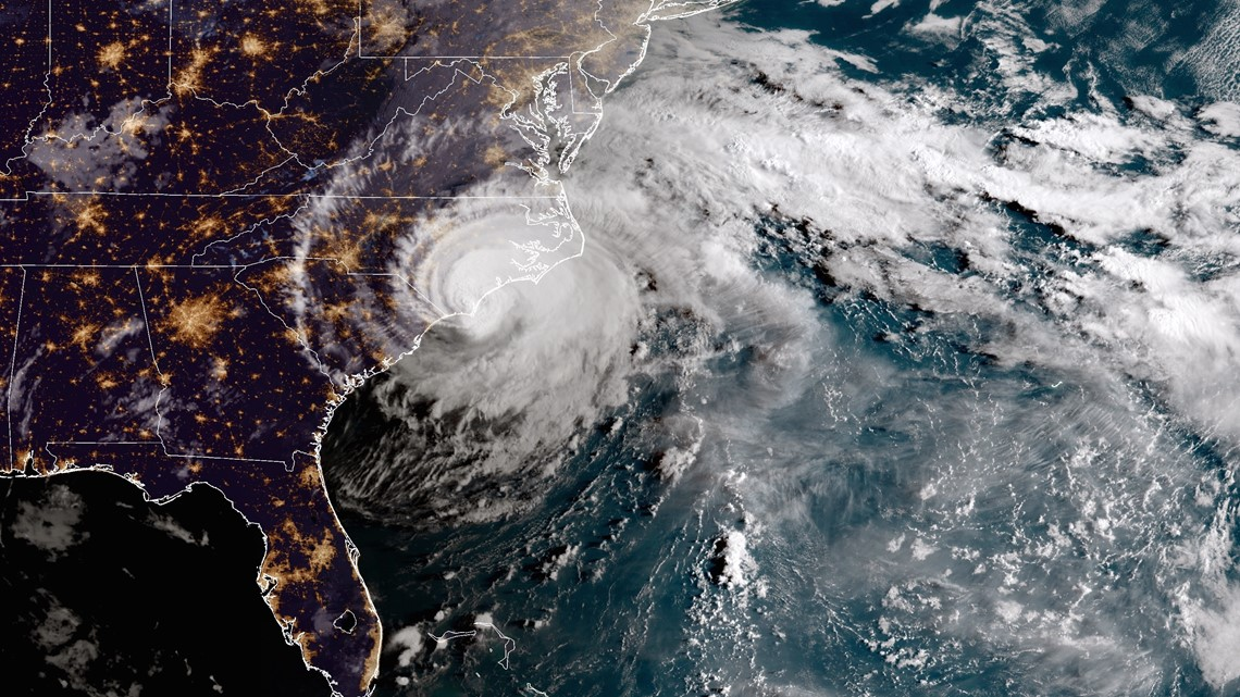 Florence, a Smelly Wet Unwanted Visitor, Besieges Carolinas