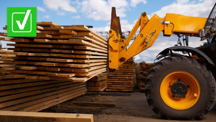 Yes, the lumber shortage is real