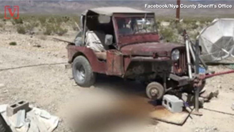 Police Say Nevada Man's Death From Being Pinned Under Jeep is Due to California Earthquake
