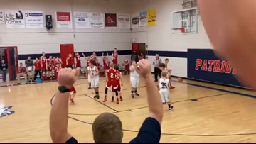 'I swished it like Michael Jordan, didn't I, mom?' || Tennessee student with autism has his basketball dream come true