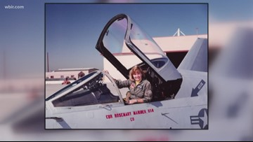Navy to hold first-ever all-female flyover in honor of pioneer Capt. Rosemary Mariner