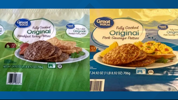 RECALL ALERT: Great Value pork and turkey sausage sold at Walmart may contain Salmonella