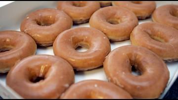 Krispy Kreme offering dozen donuts for $1 today