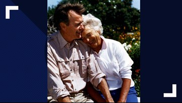 Bill would authorize coins honoring George and Barbara Bush
