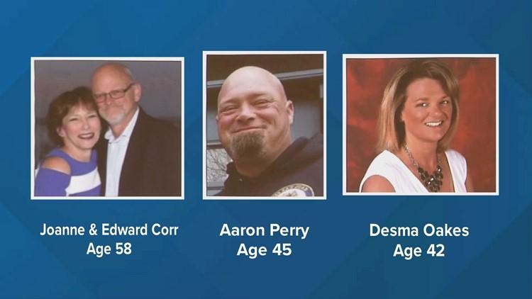 Victims in Randolph crash