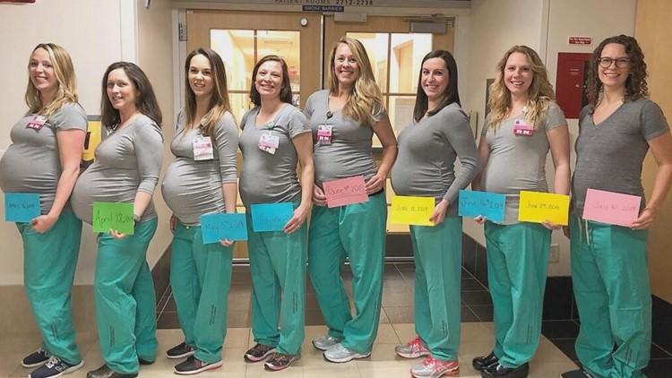 Nine nurses 2