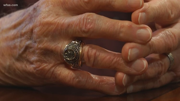 Without his Aggie ring, this 1942 A&M grad was 'pretty empty.' Now he's himself again
