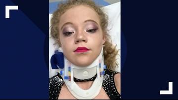 Texas cheerleaders injured at Walt Disney World by flying umbrella