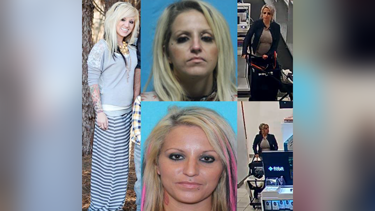 """The department penned a letter to """"Dearest Crystal Ladawn Finley,"""" who's accused of stealing a Southlake resident's identity and using it to open up credit cards at stores across North Texas."""