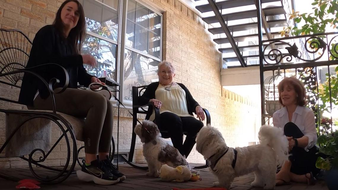 'They just melt my heart': 81-year-old Dallas woman just wanted to pet a dog. Hundreds of people stepped up to help