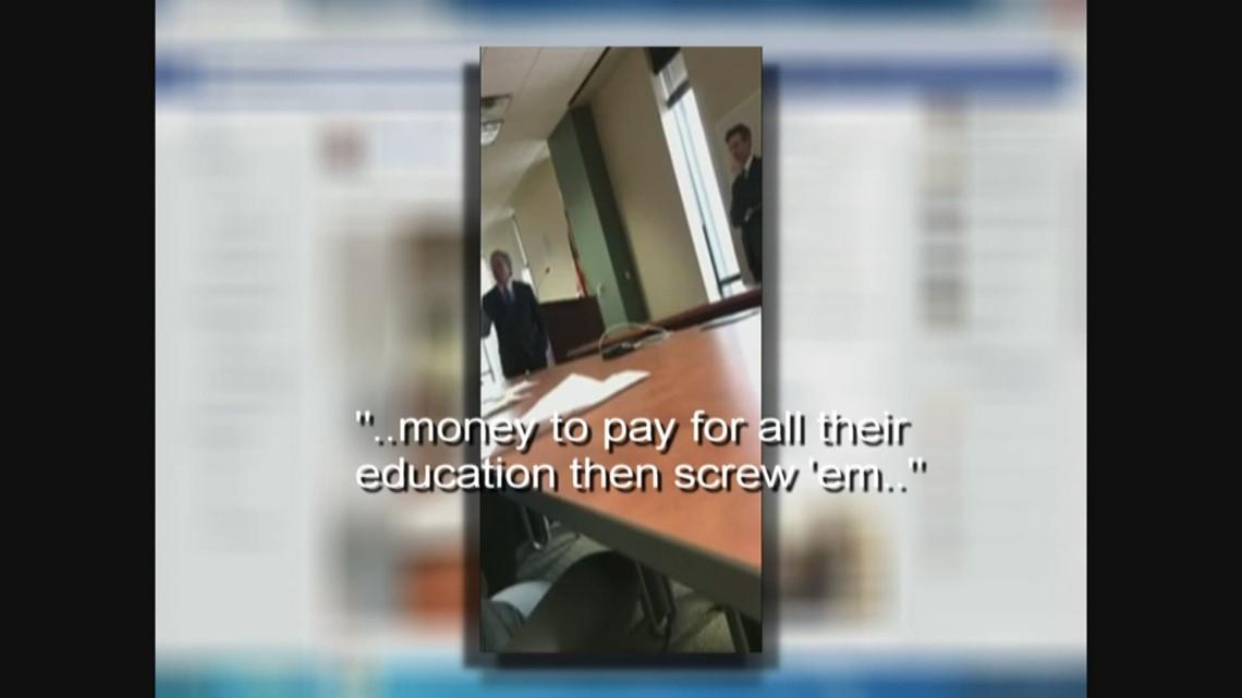 State senator Don Huffines raises voice at parents ...