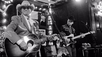 A visit with a Texas music legend, retiring from nearly 50 years on the road