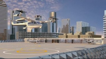 The first test site for Uber's flying taxis is in Texas