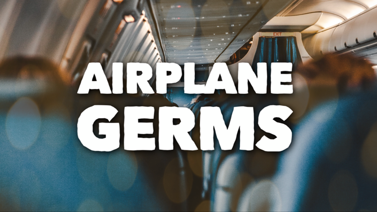 Germs on a plane: How bad is it?