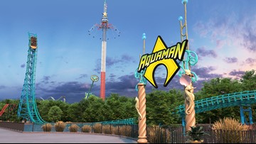 Six Flag Over Texas announces water-coaster 'Aquaman: Power Wave' to  make a big splash in 2020