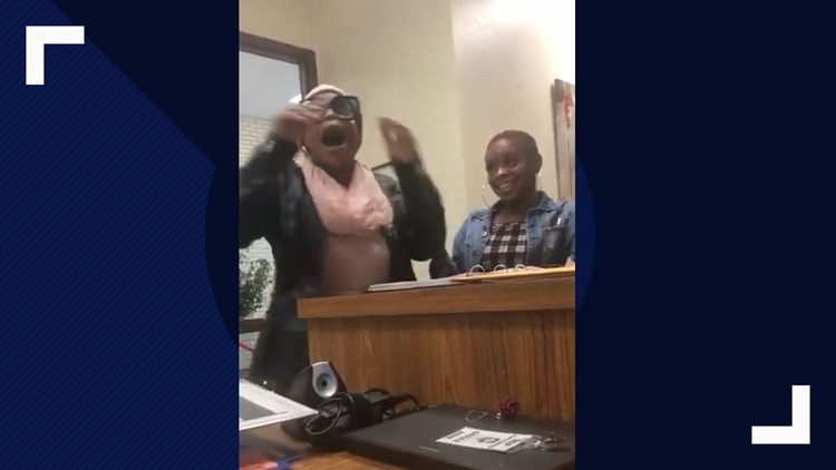 WATCH: This mom's visit to the principal's office ended in a victory dance