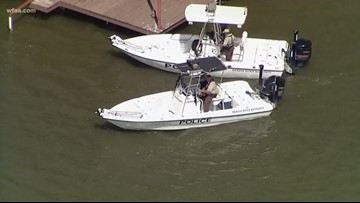 'Daddy went swimming': Girl, 3, found alone on boat in Brazos River