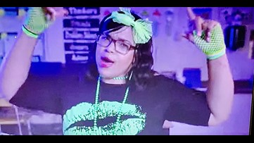 Greensboro principal inspires her students by filming a Cardi B rap music video