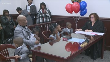 Man adopts 5 siblings so they can stay together