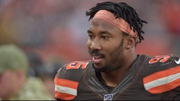 Myles Garrett reinstated by NFL after hitting Steelers QB with helmet