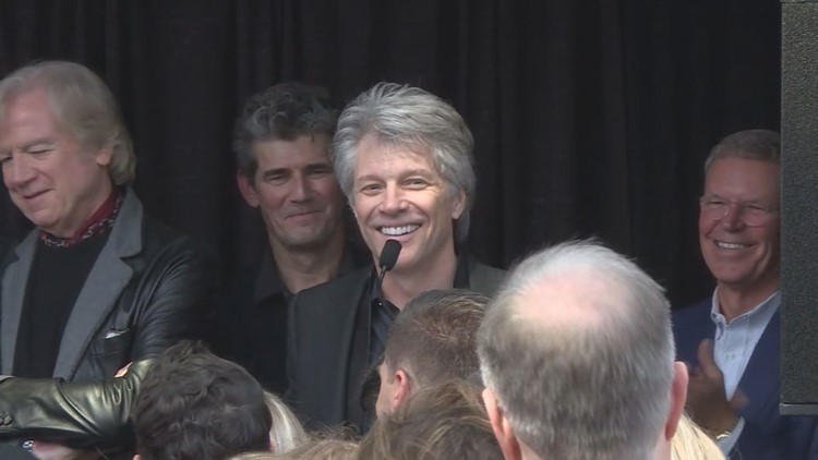 Bon Jovi makes special appearance at Rock Hall ahead of induction ceremony: video, gallery