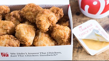 Chick-fil-A giving away free chicken nuggets the rest of the month