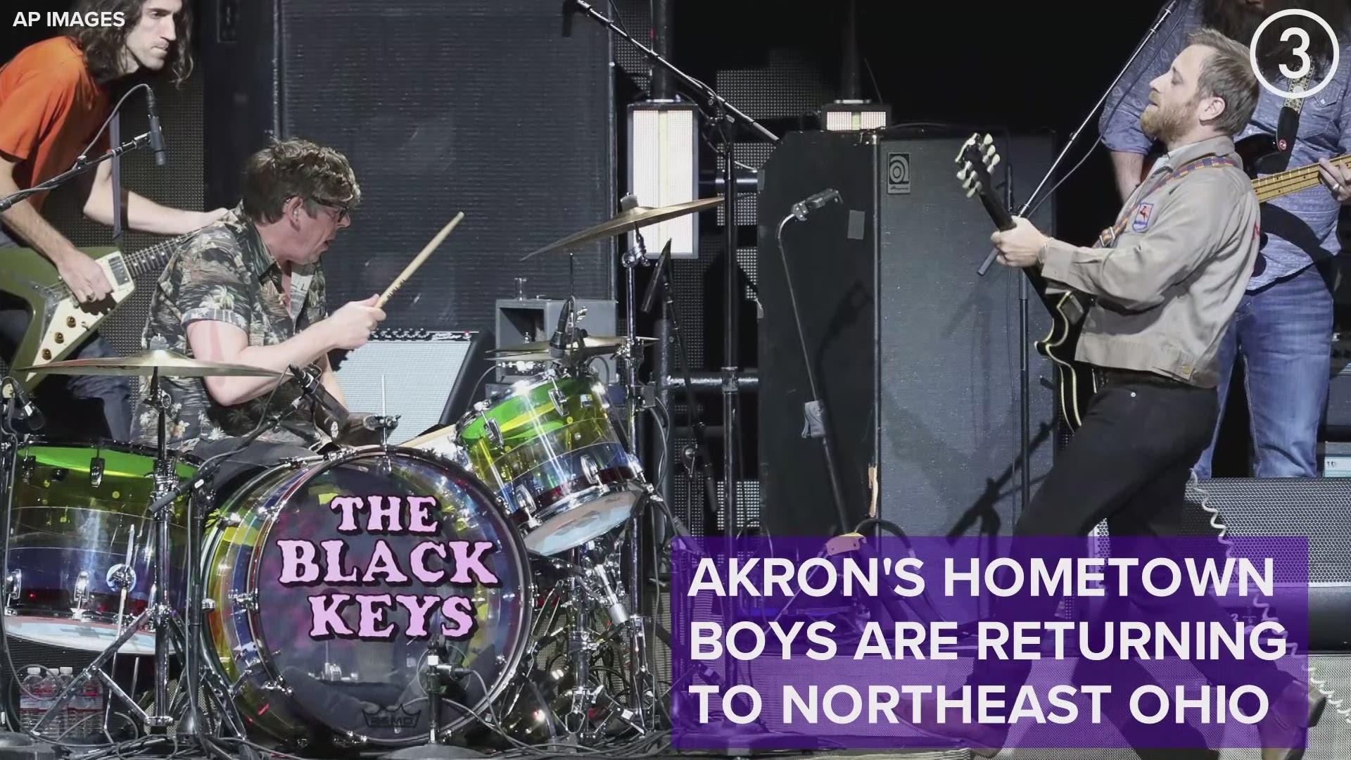 Black Keys concert coming to Blossom Music Center August ...